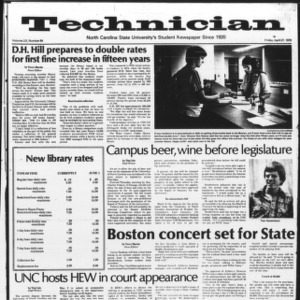 Technician, Vol. 59 No. 84, April 27, 1979