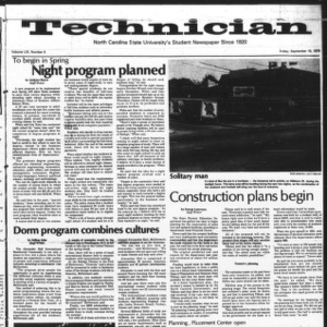 Technician, Vol. 59 No. 9, September 15, 1978