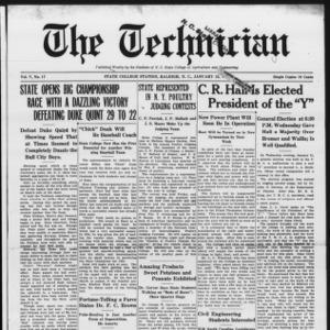 Technician, Vol. 5 No. 17, January 23, 1925