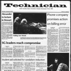 Technician, Vol. 60 No. 14, September 26, 1979