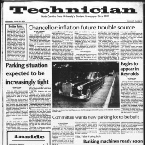 Technician, Vol. 60 No. 3, August 29, 1979