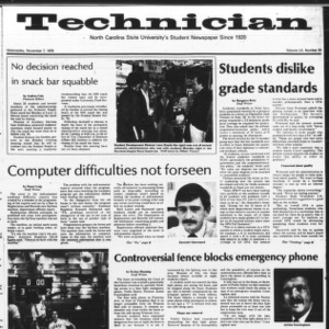Technician, Vol. 60 No. 31, November 7, 1979