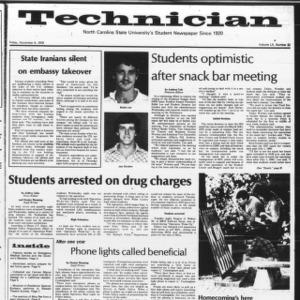 Technician, Vol. 60 No. 32, November 9, 1979