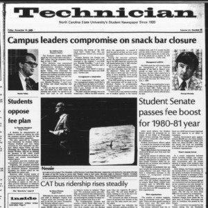 Technician, Vol. 60 No. 35, November 16, 1979