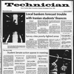 Technician, Vol. 60 No. 40, November 30, 1979