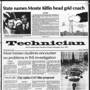 Technician, Vol. 60 No. 43, December 7, 1979