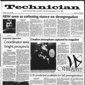 Technician, Vol. 60 No. 53, January 28, 1980