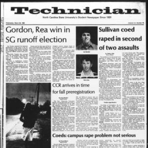 Technician, Vol. 60 No. 75, March 26, 1980