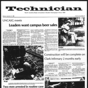Technician, Vol. 61 No. 10, September 15, 1980