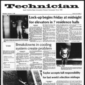 Technician, Vol. 61 No. 11, September 17, 1980