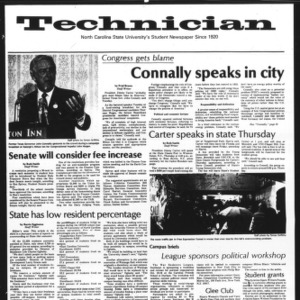 Technician, Vol. 61 No. 20, October 8, 1980