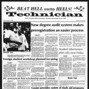 Technician, Vol. 61 No. 23, October 17, 1980