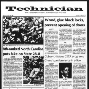 Technician, Vol. 61 No. 24, October 20, 1980