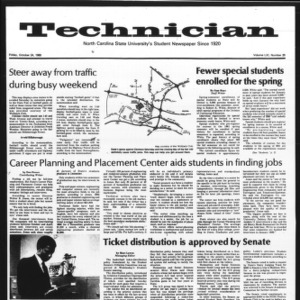 Technician, Vol. 61 No. 26, October 24, 1980