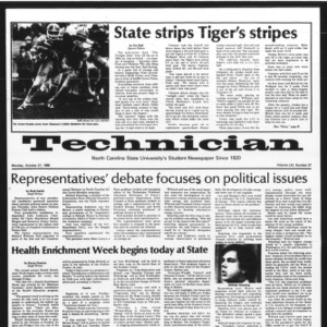 Technician, Vol. 61 No. 27, October 27, 1980