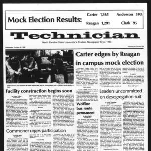Technician, Vol. 61 No. 28, October 29, 1980