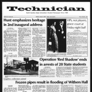 Technician, Vol. 61 No. 44, January 12, 1981