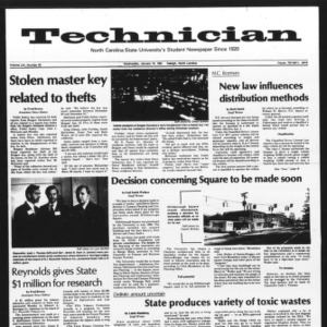 Technician, Vol. 61 No. 45, January 14, 1981