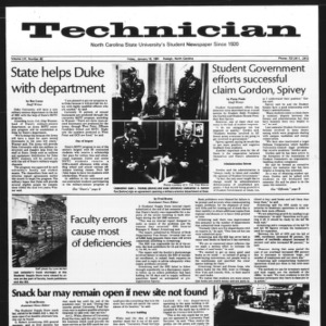 Technician, Vol. 61 No. 46, January 16, 1981