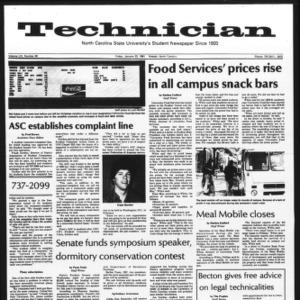 Technician, Vol. 61 No. 49, January 23, 1981
