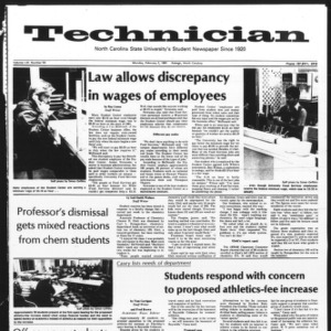 Technician, Vol. 61 No. 53, February 2, 1981
