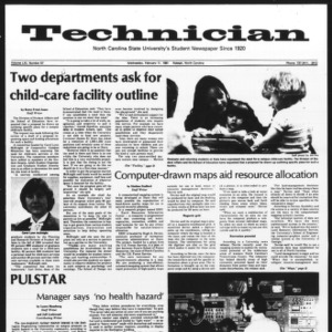 Technician, Vol. 61 No. 57, February 11, 1981