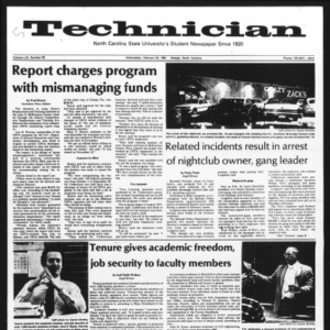 Technician, Vol. 61 No. 63, February 25, 1981