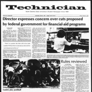 Technician, Vol. 61 No. 66, March 4, 1981