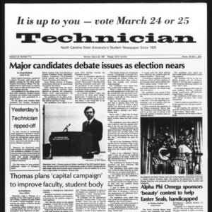 Technician, Vol. 61 No. 71, March 23, 1981