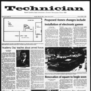 Technician, Vol. 61 No. 74, March 30, 1981