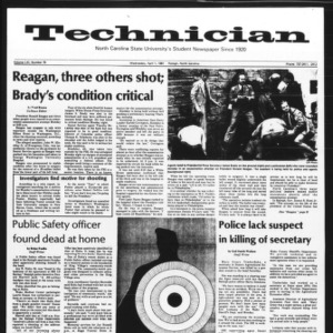 Technician, Vol. 61 No. 75, April 1, 1981