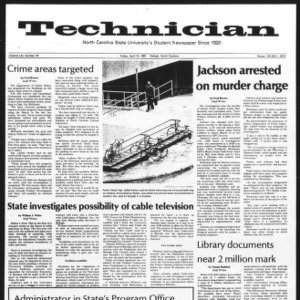Technician, Vol. 61 No. 79, April 10, 1981