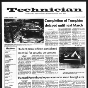 Technician, Vol. 61 No. 8, September 10, 1980