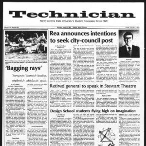 Technician, Vol. 61 No. 80, April 13, 1981