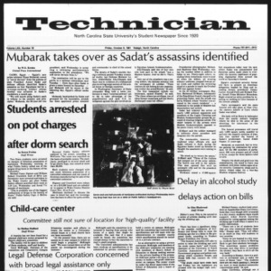 Technician, Vol. 62 No. 18, October 9, 1981