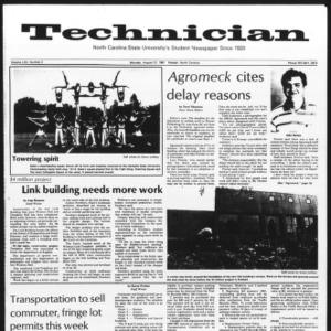 Technician, Vol. 62 No. 2, August 31, 1981
