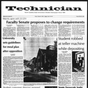 Technician, Vol. 62 No. 23, October 23, 1981