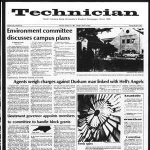 Technician, Vol. 62 No. 24, October 26, 1981