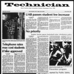 Technician, Vol. 62 No. 29, November 6, 1981