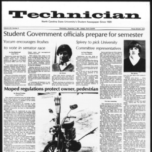 Technician, Vol. 62 No. 3, September 2, 1981