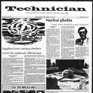 Technician, Vol. 62 No. 32, November 13, 1981