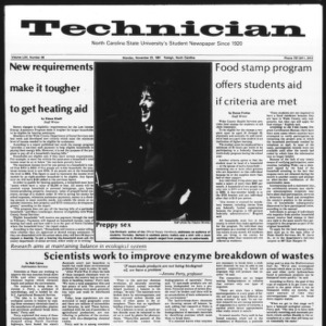 Technician, Vol. 62 No. 36, November 23, 1981