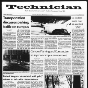 Technician, Vol. 62 No. 39, December 2, 1981