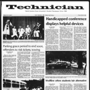 Technician, Vol. 62 No. 4, September 4, 1981