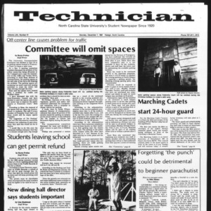 Technician, Vol. 62 No. 41, December 7, 1981