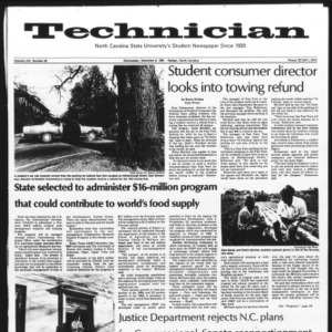 Technician, Vol. 62 No. 42, December 9, 1981