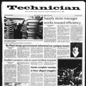Technician, Vol. 62 No. 43, December 11, 1981