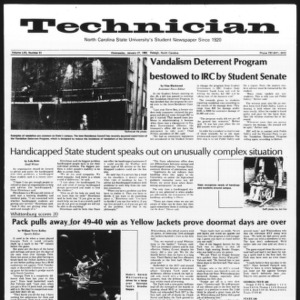Technician, Vol. 62 No. 51, January 27, 1982