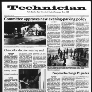 Technician, Vol. 62 No. 56, February 8, 1982