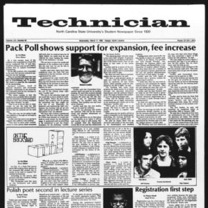Technician, Vol. 62 No. 69, March 17, 1982